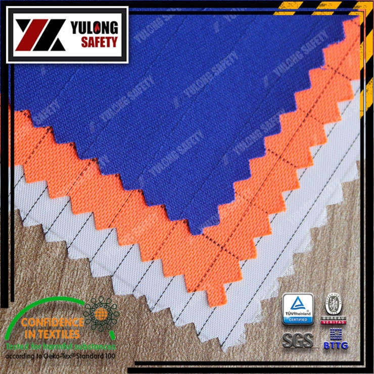 Xinxiang Yulong Textile co.,Ltd Anti static fabric AST workwear