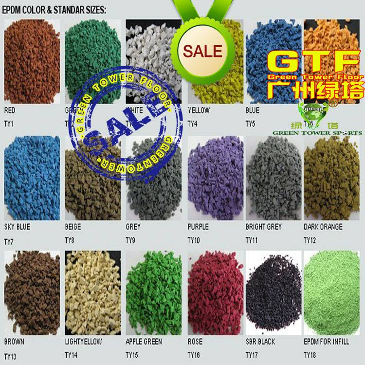 High Quality EPDM Rubber Granules