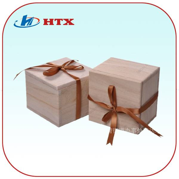 Leisure Simple Wooden Packaging Box for Gift/Watch/Toy