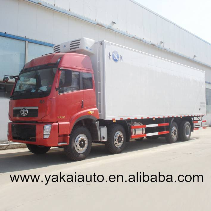China customized truck with cold room transport trucks body