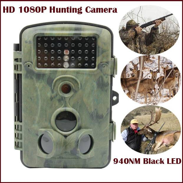 Wildlife Camera 1080P Trail Camera 940nm Black Led Invisible Animal Trap Hunting Camera