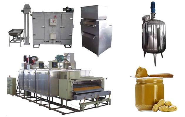 Peanut Butter Production line(500kg/h)