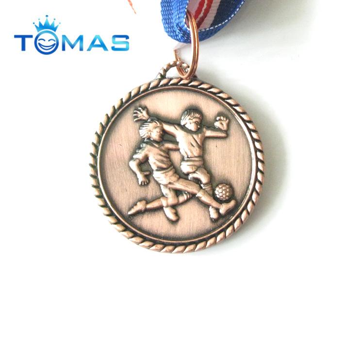 High quality sport awards custom football medals