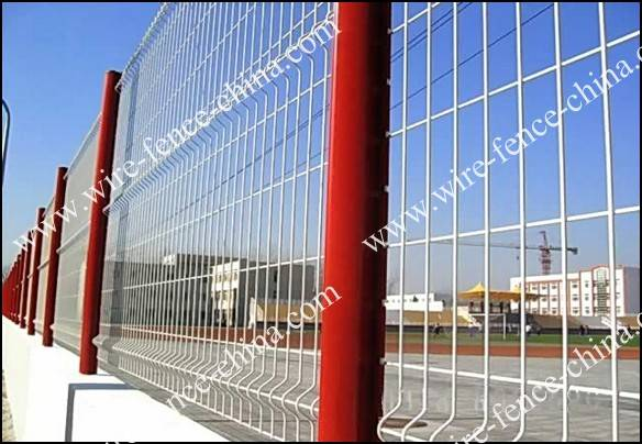 Hebei direct manufacture General weld  mesh fence for sale