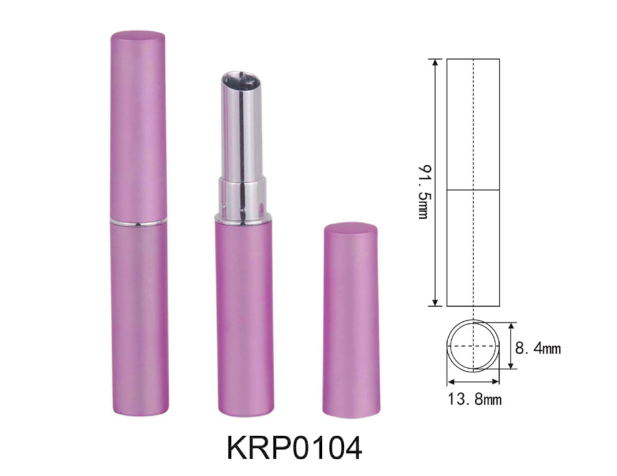 Empty Lipstick Tube High Quality Pink Slim Lipstick Packing Tube