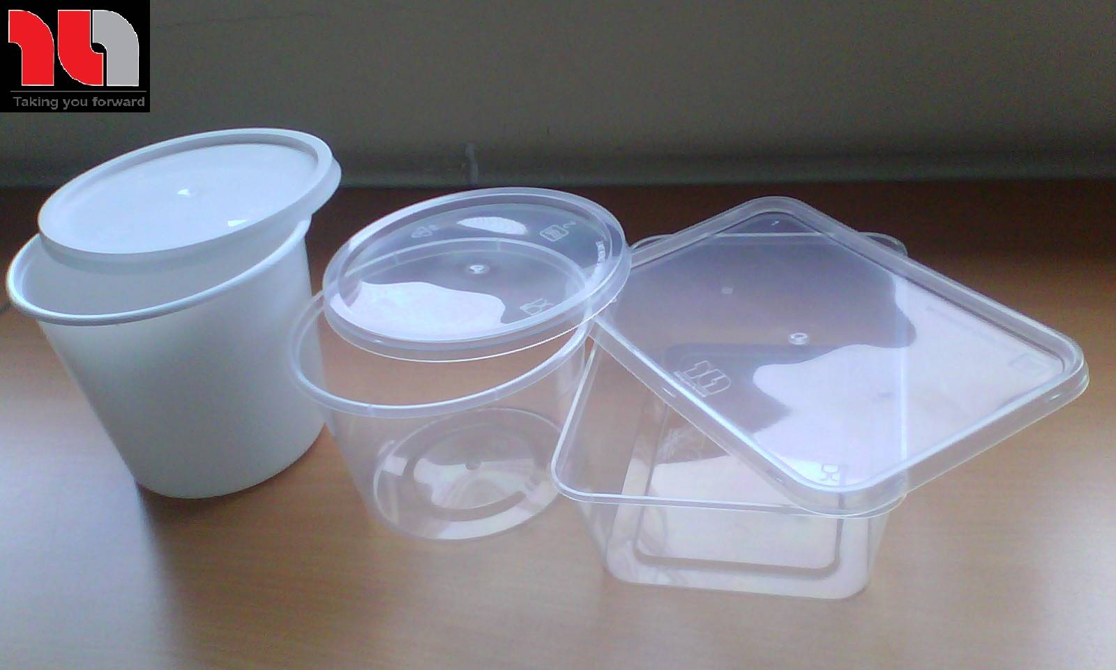 MICROWAVABLE PLASTIC BOXES - 100% PP