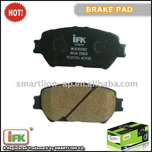 GDB3314 04465-33250 TToyota Camry ISO TS16949 brake pad producer