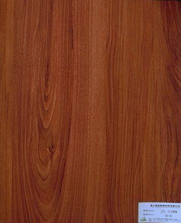 melamine paper/furniture decorative paper JS-3189 Pear wood