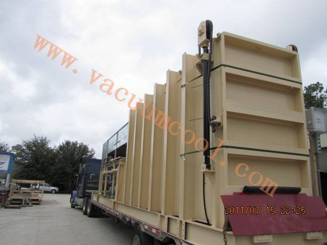 Vacuum cooling equipment for vegetable
