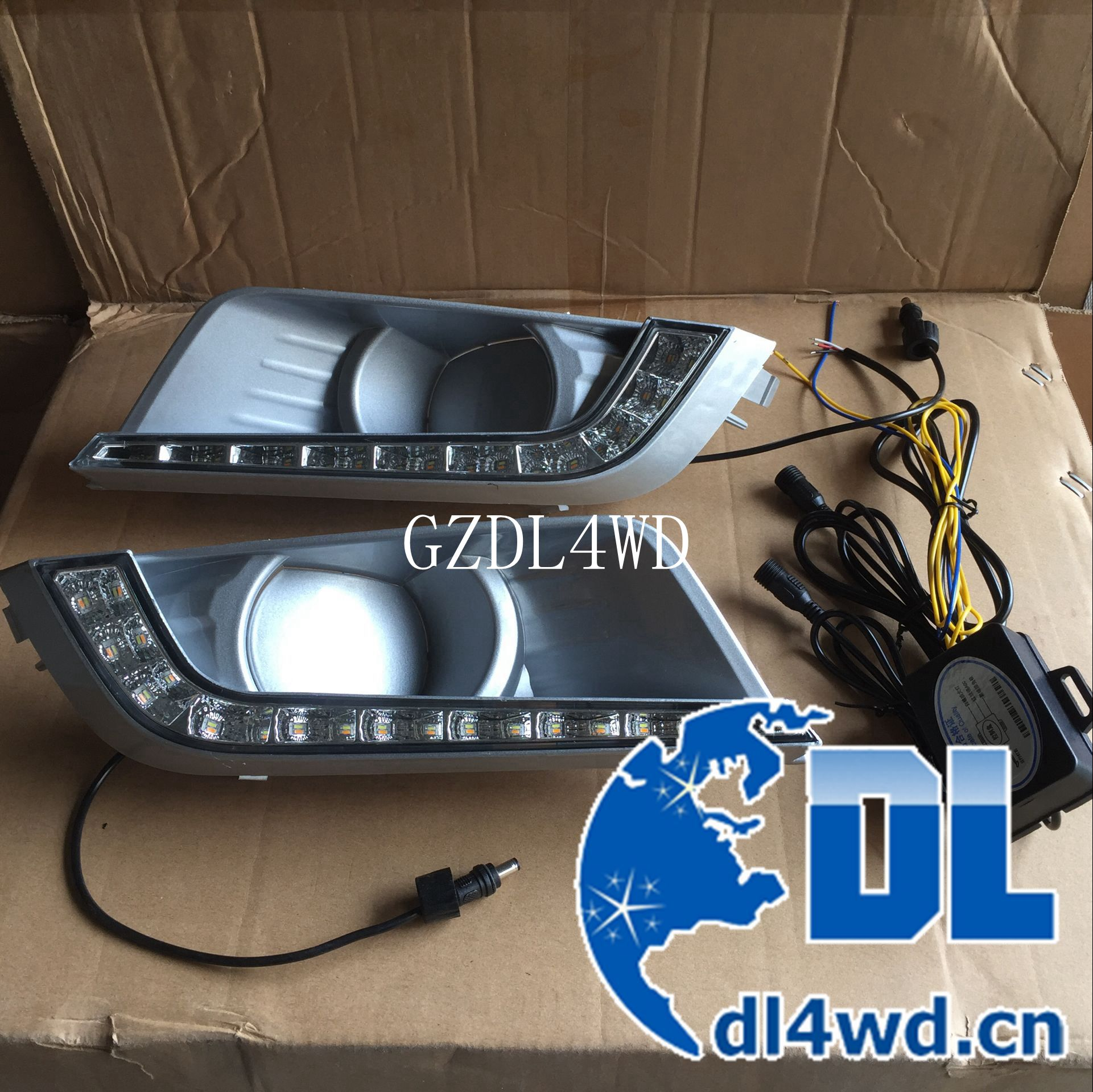led drl daytime running lights for ford ranger t7 2016