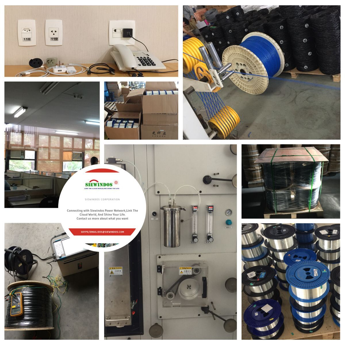 Siewindos Shine Telephone drop wire for telecom system Telephone drop wire Product Classification