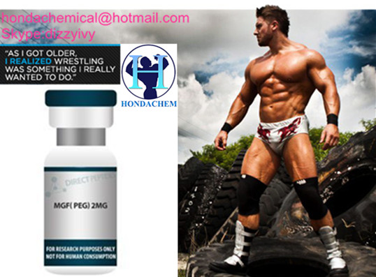 Anabolic peptide PEG-MGF for Weight Loss Growth Peptides 2mg/Vial PEG MGF for body building