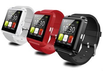 U8 Smart Watch Phone Handsfree, Control Cellphone Camera, Stopwatch, Altitude