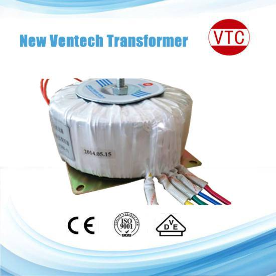 Factory direct sale high efficiency 300W toroidal transformer
