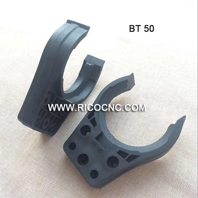 Black BT50 Tool Holder Forks CNC Tool Changer Gripper Clip for Umbrella Type Automatic Tool Changer