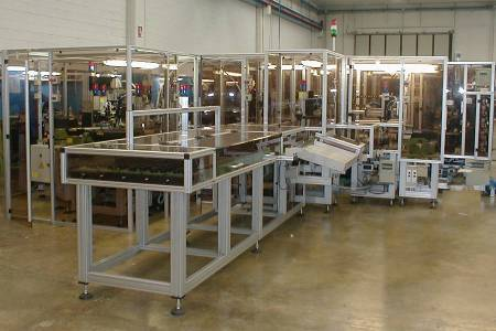 Assembly Line for Extinguishers Valves (600 pcs/h)