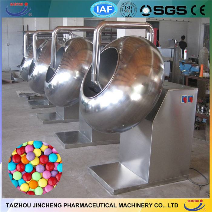 Chocolate enrober sugar coating machine price