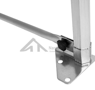 Folding Gazebo Ground Bar(Round Pole)