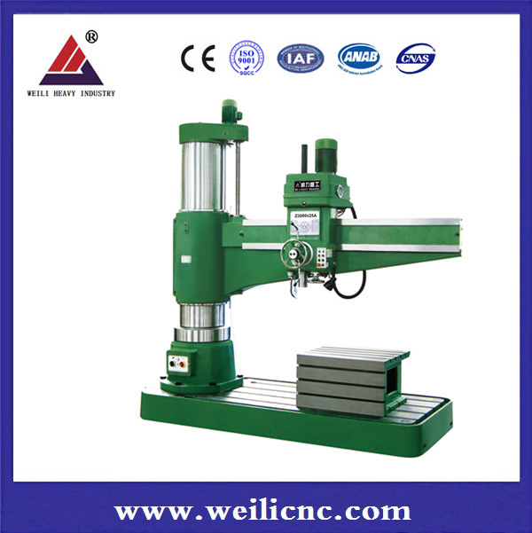 High quality hydraulic radial drilling machines factory from China