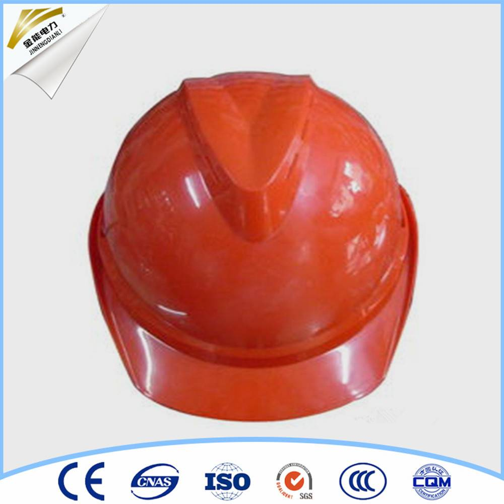 industrial safety helmet with chin strap