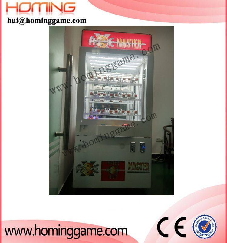 2016 Super Hot sale Axe Master redemption game machine-Axe master prize game machine(hui@hominggame.