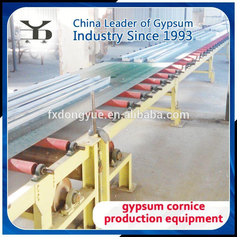 gypsum cornice machine