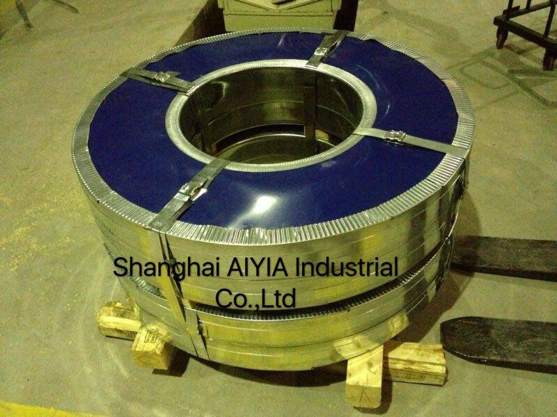 High-quality hot dip galvanized Steel strips widely used for different areas