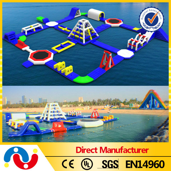 Best Selling Giant Inflatable Floating Water Park, Aqua Park Equipment, Water Amusement Park