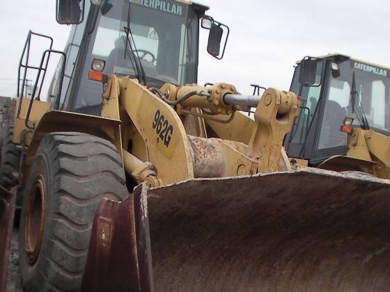 USED CATERPILLER WHEEL LOADER 962G/GOOD CONDTION