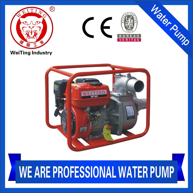 WT80 gasoline water pump