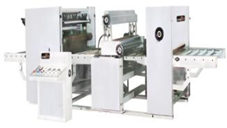 Hydraulic Paper/Wood grained foil paper sticking lamination machine with hydraulic oil repress rol