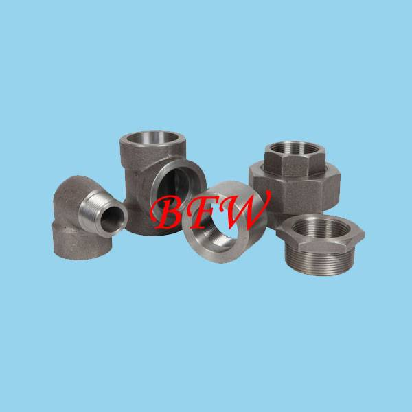 High pressure forge steel fitting