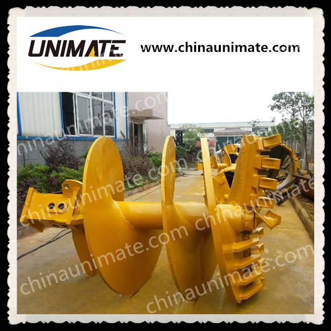 Unimate rotary drilling rig rock auger CFA auger drill auger bucket conical auger