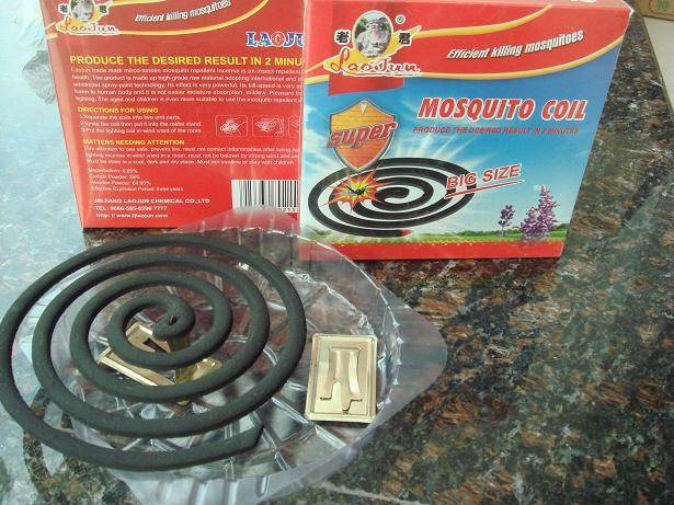 black mosquito coils