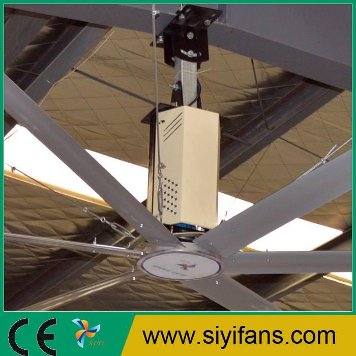 24ft Warehouse Ventilation Big Diameter Industrial Ceiling Fan