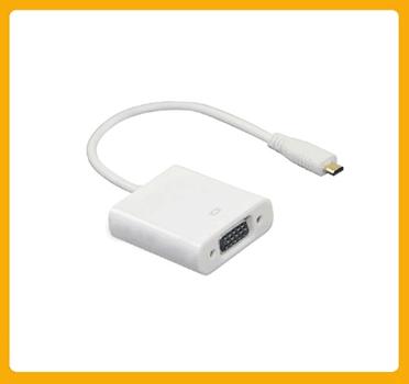 Micro HDMI to VGA Female Adapter