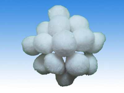 high filtration performance polyster fiber ball filter meidia/Fiber ball stuffing material in water