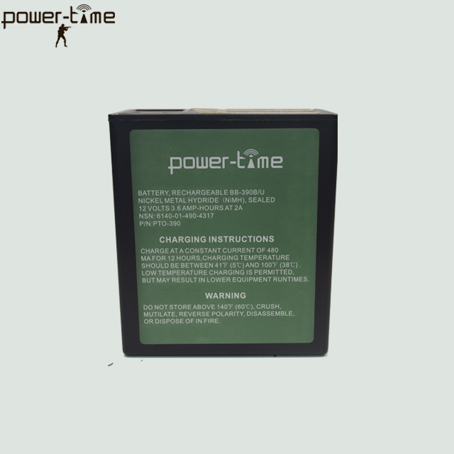 BB-390B/U Rechargeable Ni-Mh Battery Pack PTO-390