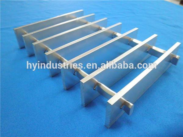 industrial swaged aluminum grating grates