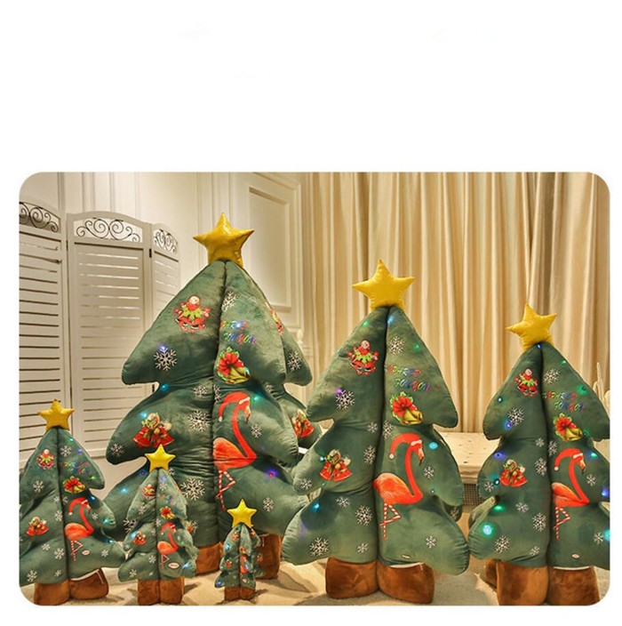 Soft Plush Stand For LED Christmas Tree Home Decoration Tree Christmas