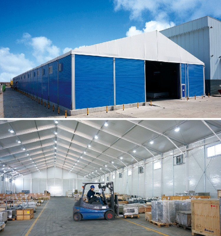 Outdoor Temporary Industrial Storehouse Marquee for Warehouse Tent