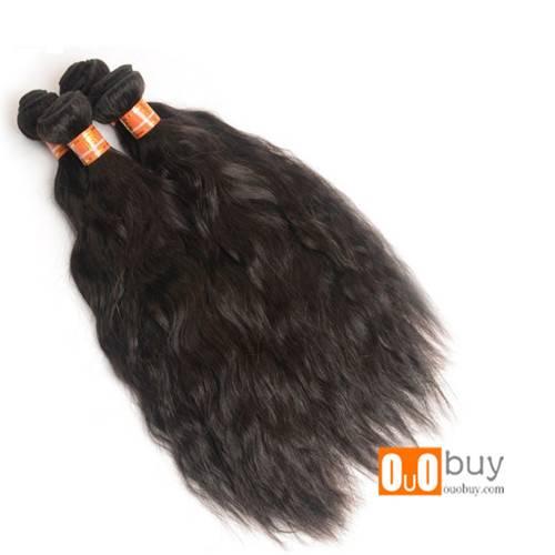 Silky Natural Wave Human Hair Grade 8A Tangle Free,No Shedding,Very Full,No Acid
