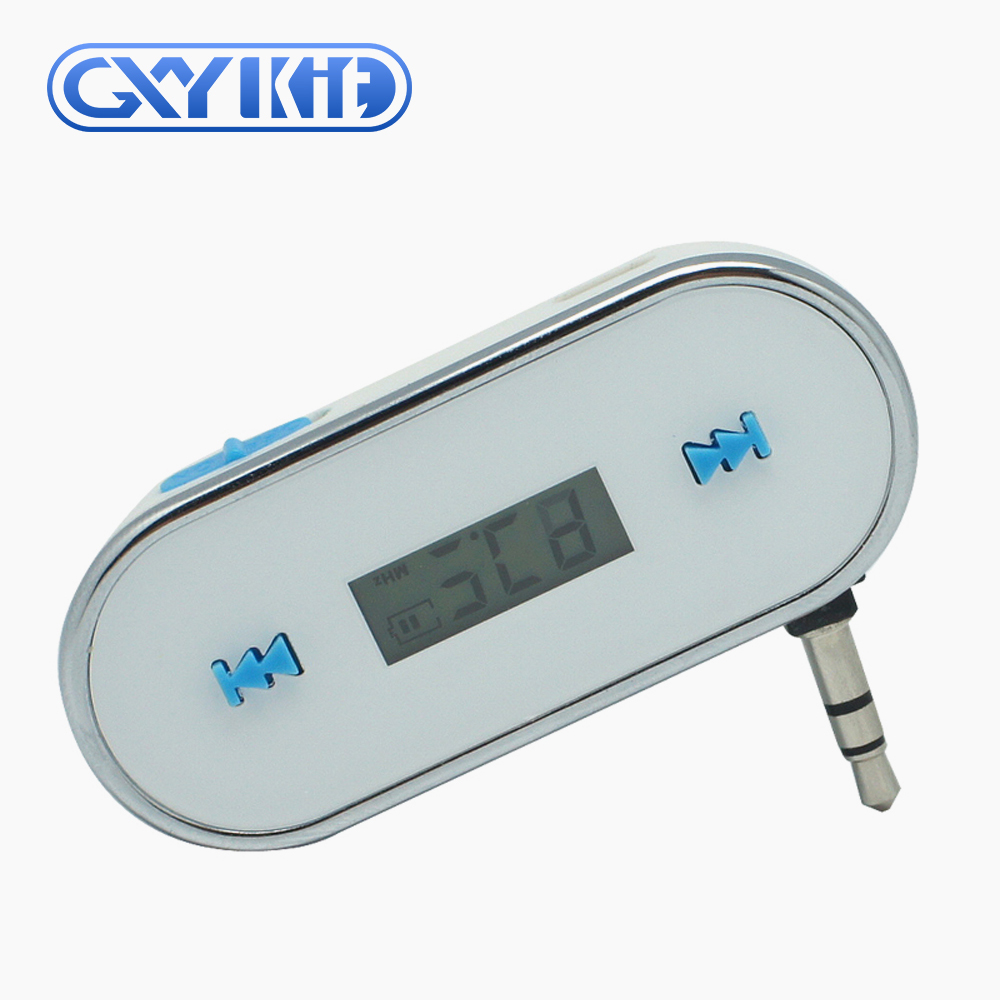 GXYKIT Car Audio 3.5mm jack Car FM transmitter F2 MP3 transmitter