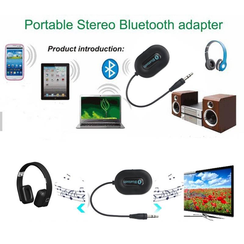 BM-E9 Bluetooth 3.0 Audio Music Receiver Black