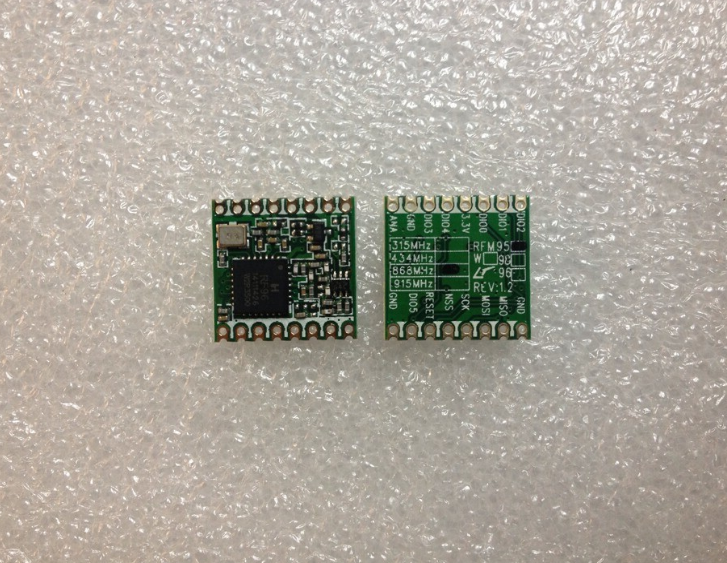 Rf transceiver modules rfm95w-868s2 rfm95 / 96 / 97 / 98(w) low power long range transceiver module