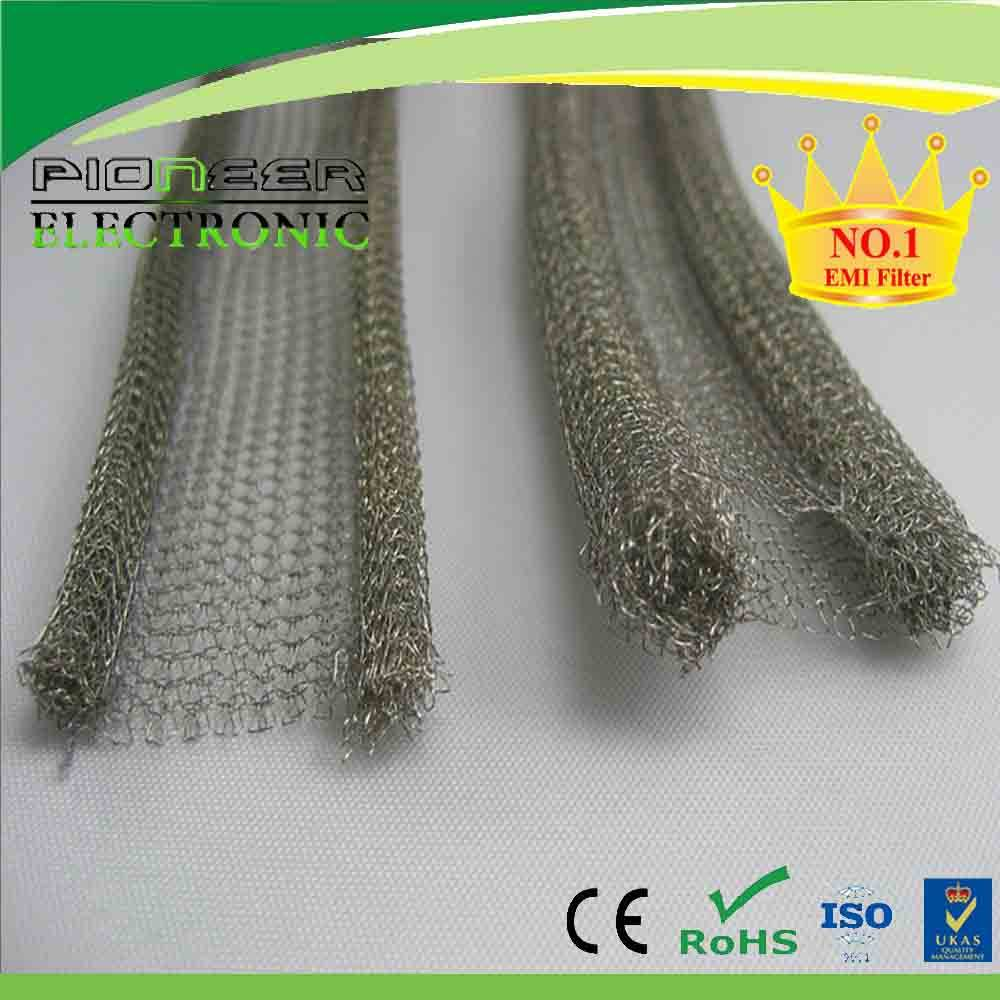 magnetic shielding all-metal wire mesh gasket
