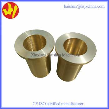 High Quality centrifugal casting flanged sleeve bearing