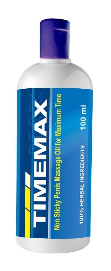 Timemax Oil-Penis Massage Oil for Enlargement, ED & PE