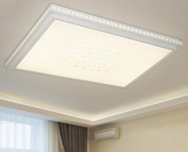 Led rectangular modern simple bedroom room light