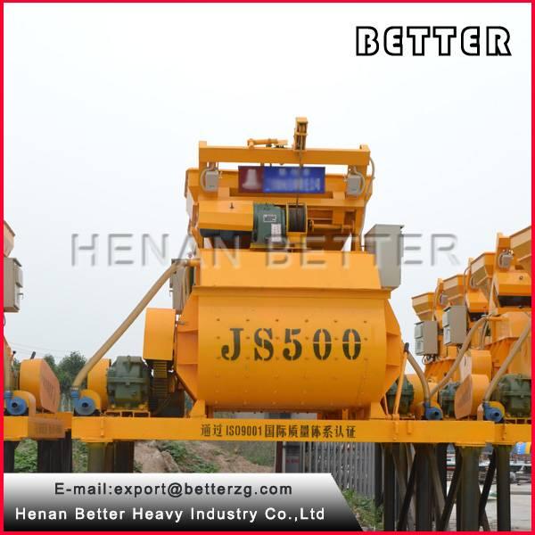 JS500 electric concrete mixer